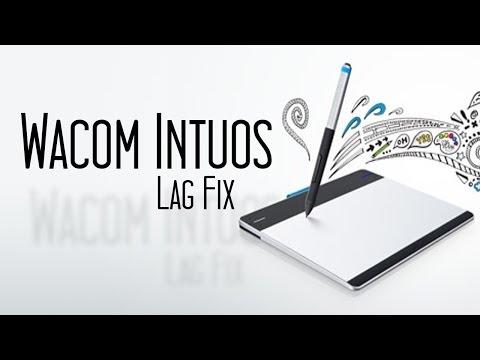 Wacom Intuos Drawing Tablet - Lag Fix