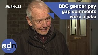 John Humphrys: BBC gender pay gap comments were a joke