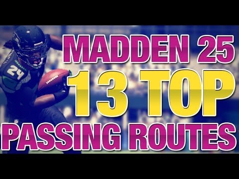 The 13 Best Passing Routes You Should Throw in Madden 25