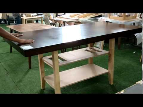 Cascade Counter Height Table