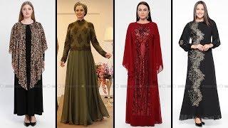 f7f849bc2b3e6 Modaselvim #Şarabi #Tesettür #Abiye #Elbise Modelleri 2019 | #Hijab ...