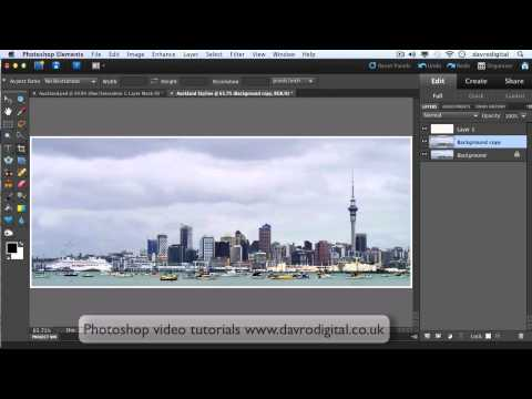 3D border in Photoshop Elements