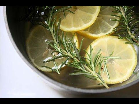 ★Make Your Home Smell Fresh With Lemon-Rosemary Simmer Pot