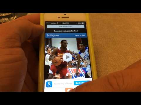 How to repost videos on Instagram - iPhone IOS