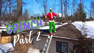 The Grinch Family Christmas Skit Part 2/3