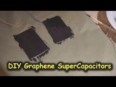 DIY Graphene Based Supercapacitor Testing