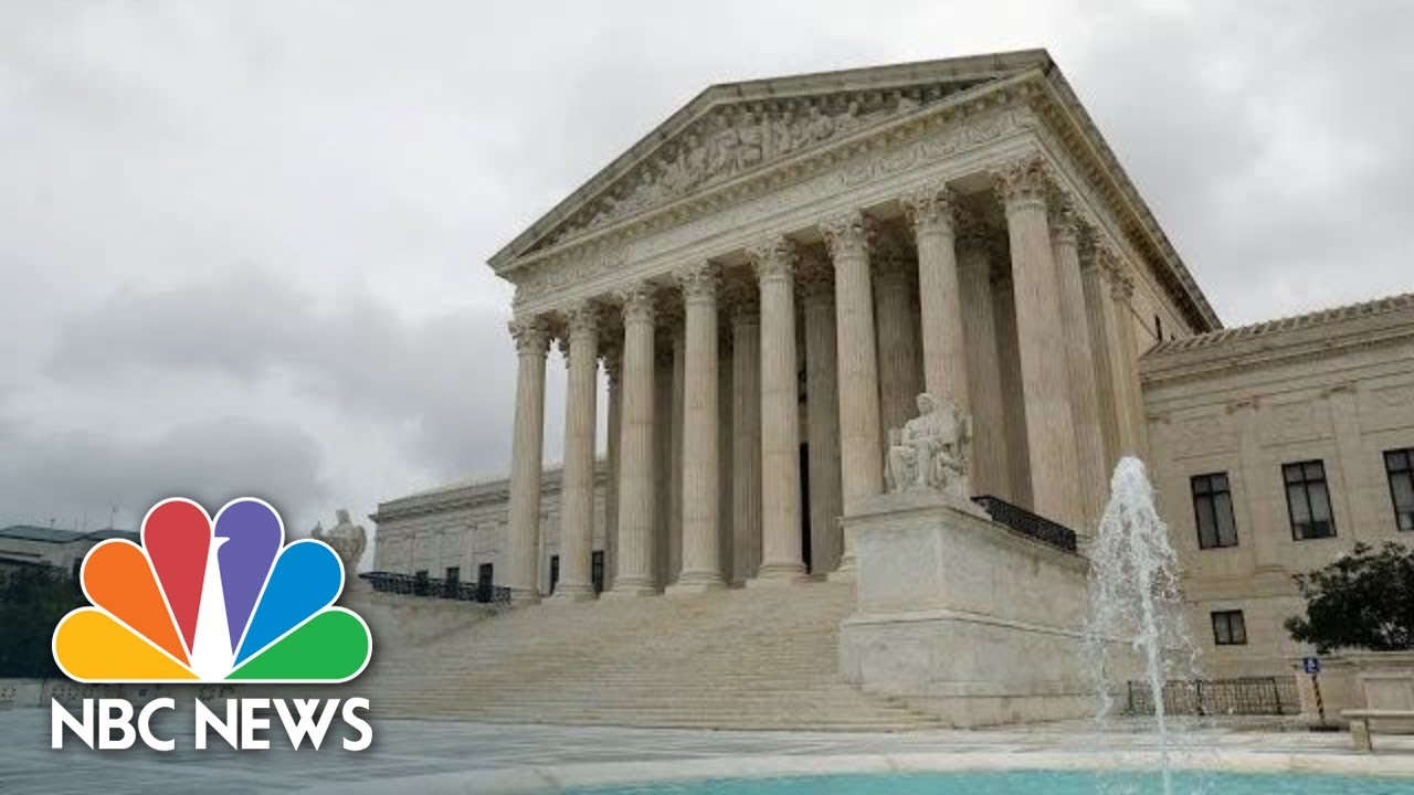 Supreme Court Hears Arguments On Affordable Care Act | NBC News