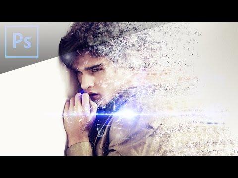 Photoshop CS6 Tutorial  - Disintegration Effect