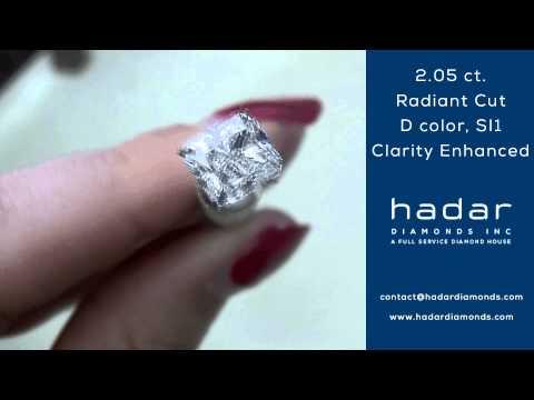 2.05 Radiant Clarity Enhanced Diamond | D color, SI1