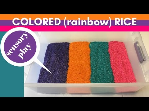 How to Make Colored (RAINBOW) Rice