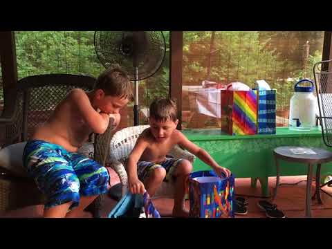 Jordan's 7th Birthday ... pool party!!
