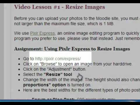 How to Resize an Image in Pixlr Express