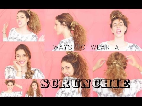 Ways To Wear A Scrunchie |  PIXIE and PIXIER