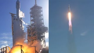 Falcon Heavy first launch