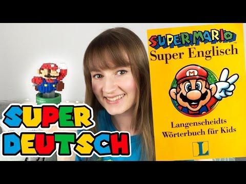 Vintage Super Mario dictionary!