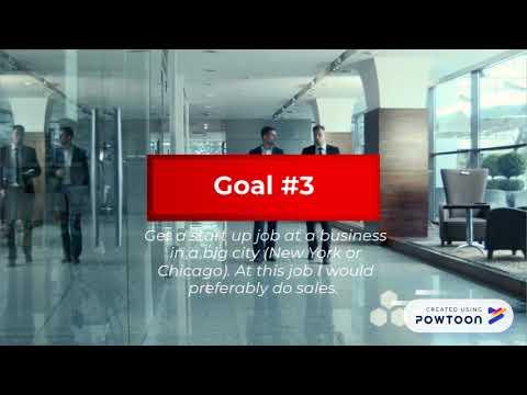 Personal branding project goals