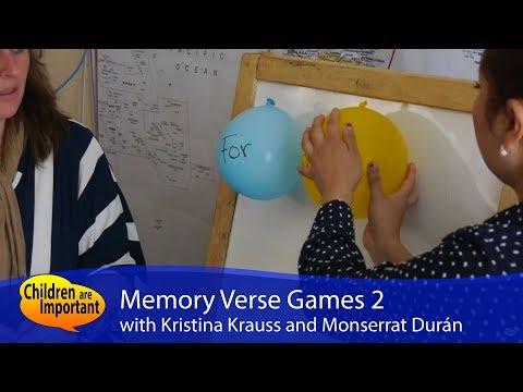 Memory Verse Games 2