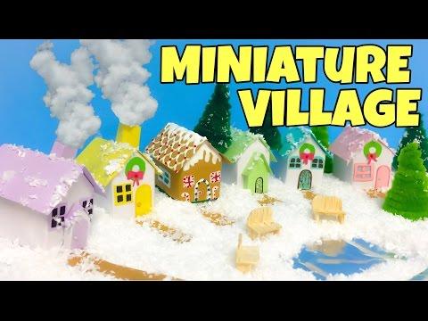 Miniature ZEN garden - mini Christmas decorations /easy crafts