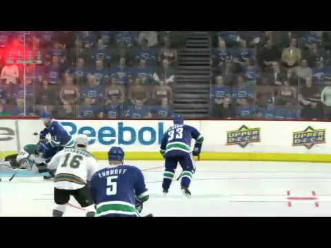 NHL 11 Western Conference Playoff Sim- Vancouver vs. San Jose