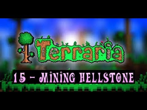 Terraria Tutorials 'How to Mine Hellstone Safely'