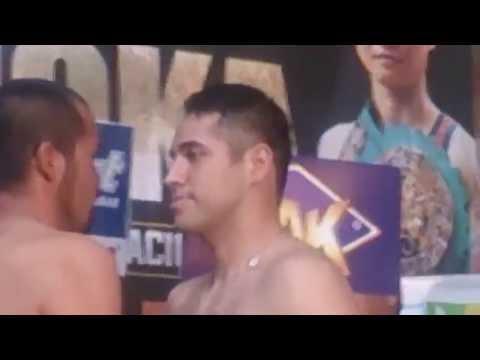 Marco Antonio Periban vs. Octavio Castro   Video pesaje