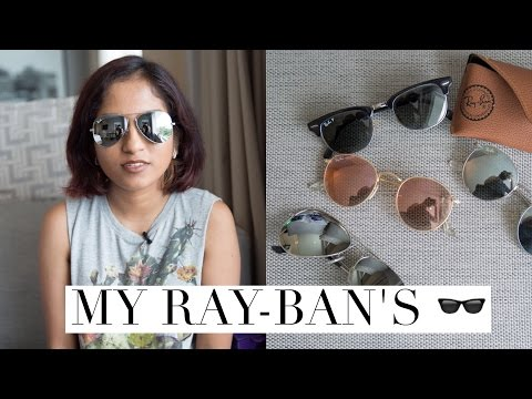 44cb1847c89d My Ray-Ban Sunglasses Collection    Magali Vaz - Fendi Glasses ...
