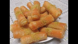 زنود الست -طريقة سهلة وطعم خرافي ومقاديرة متوفرة بكل بيت -حلويات رمضانية