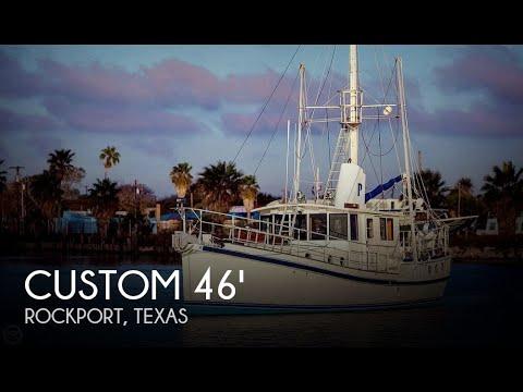 Used 2009 Custom 46 Diesel Duck for sale in Rockport, Texas