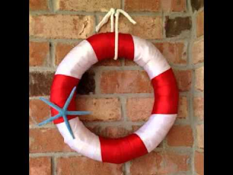 Creative DIY nautical decor ideas