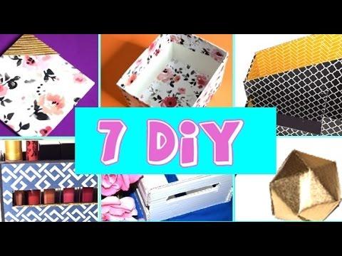 7 DIYs You Need for Your 1st Apartment! Liquid Lipstick Holder, Mini Crate, Geometric  Ball