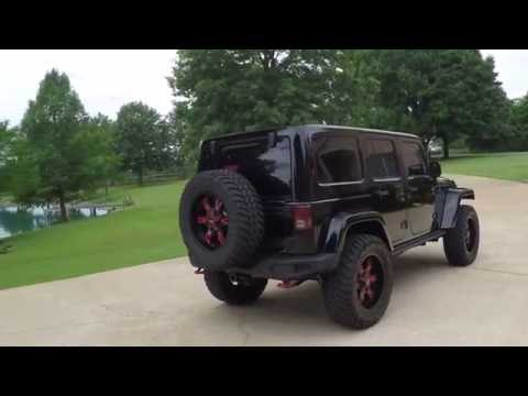 2014 JEEP WRANGLER UNLIMITED RUBICON X BLACK 4X4 BLACK SEE INFO WWW SUNSETMOTORS COM