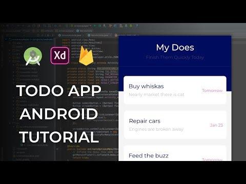 Build MyDoes App Android Studio Tutorial - Part 1