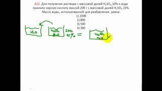 Download Задачи по химии. Растворы. А22 ЦТ 2016 Video