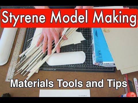 Styrene Tutorial Guide basic intro plastic model making modeling tips and tricks (Part 1)