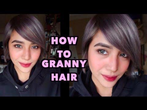 RED to GRANNY/GRAY HAIR for 2018!!!| Hairstasia | Jessica Godinez