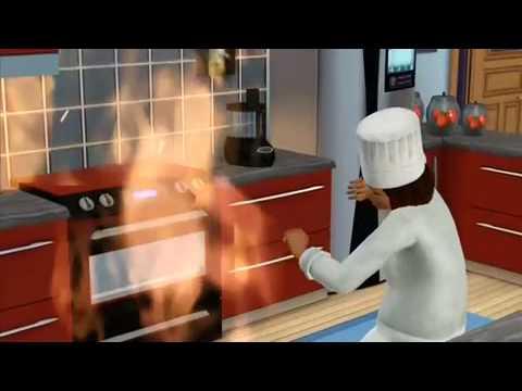 The Sims 3 - Saffron Clumsy - Chef
