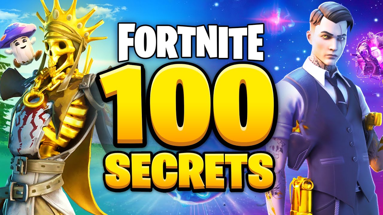 100 Things You DIDN'T KNOW About Fortnite