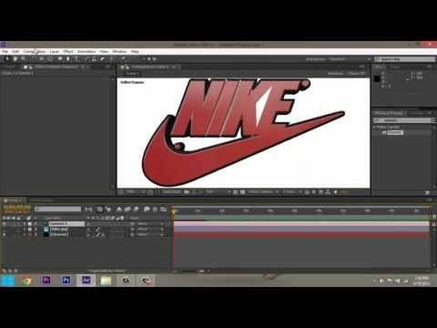 Make Your Logo Or Symbol 3D in After Effects (Tutorial)