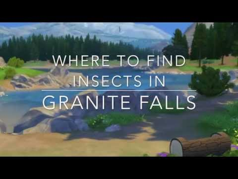The Sims 4: Where to find insects in Granite Falls