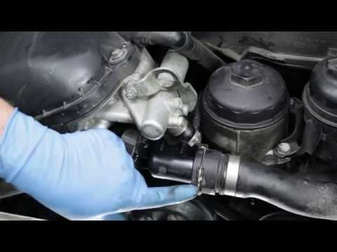 Replacing the thermostat on most 6-cylinder BMWs 91 thru 05 (M50 thru M56, S50 and S52 engines)