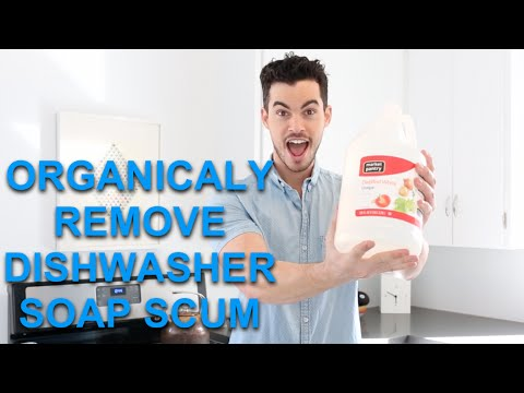 HOW TO REMOVE WATER SPOTS AND DISHWASHER SCUM