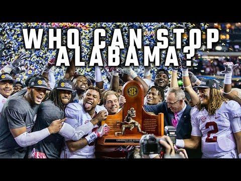 Who can stop Alabama this season?