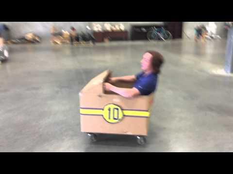 Cardboard Box Derby Car!