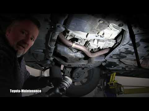 How to engine oil and filter Toyota Highlander