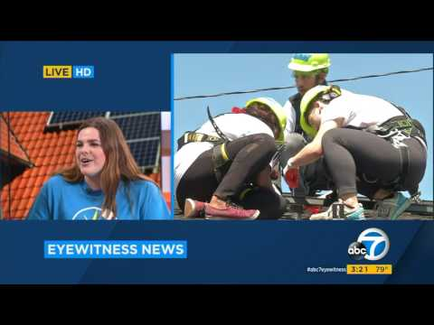 ABC7 Eyewitness News Interview on MIT's Solar Spring Break with sophomore Allie Shepard