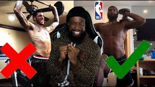 Try Not To CRINGE! NBA Players Best And WORST Workout Videos!