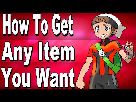 How To Get Any Item You Want In Pokemon Omega Ruby and Alpha Sapphire With Powersaves
