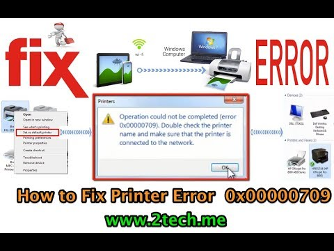 How to Fix ERROR 0x00000709