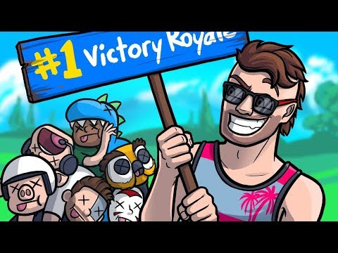 The Ultimate Victory Royale Spot! - Gmod Deathrun Fortnite Battle Royale Edition (Funny Moments)