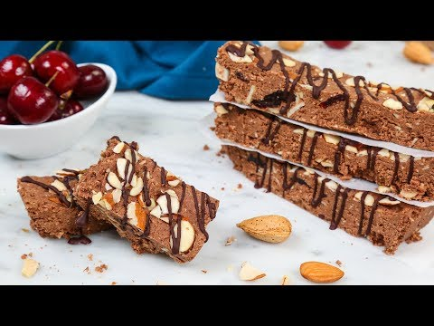 3 Healthy Protein Bars | Collab with Abbey's Kitchen